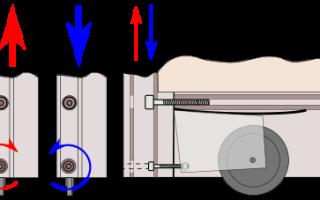 Регулировка раздвижных дверей встроенного шкафа-купе своими руками