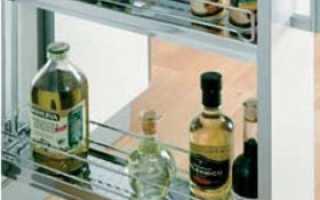 Бутылочница для кухни: назначение, виды и установка