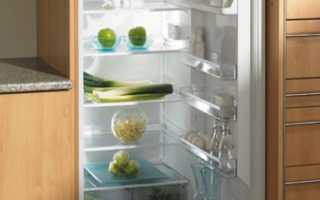 Как встроить холодильник в кухонный гарнитур – профессиональный подход