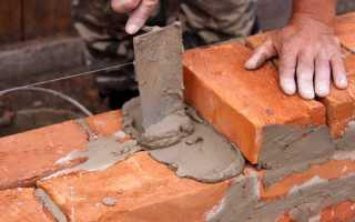 Технология кладки стен из кирпича при возведении дома