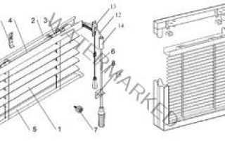 Как снять с окна жалюзи и почистить конструкцию