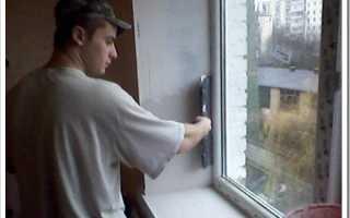 Как и чем красить откосы на окнах