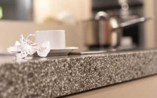 Натуральный и искусственный камень для кухни: за и против