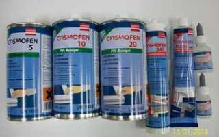Жидкий пластик Космофен для окон: применение и цена