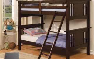 Чем опасна двухъярусная кровать