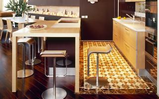 Напольное покрытие для кухни: какой пол лучше