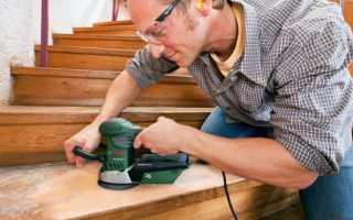 Как и чем можно покрасить деревянную лестницу