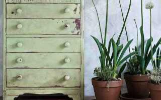 Что такое меловая краска для мебели и как ею красить