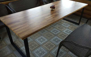 Заказать стол из массива дерева