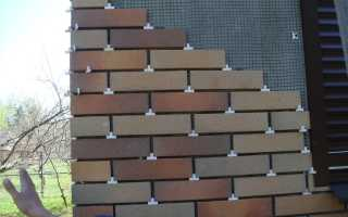 Фасадная плитка под кирпич: особенности монтажа