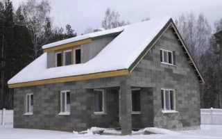 Дома из бетонных блоков