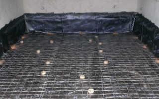 Как залить бетоном пол в гараже? Технология бетонирования