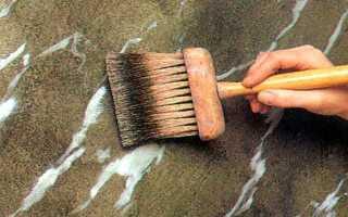 Декоративная покраска стен своими руками: необычные способы нанесения