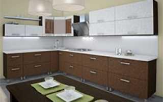 Регулировка кухонных фасадов; ответственный момент