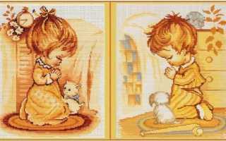 Лучшие схемы вышивки крестом: дети – ребенок будет рад
