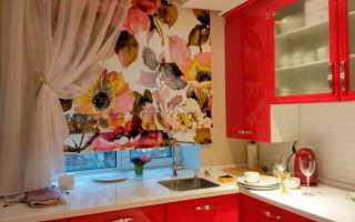 Какие шторы подойдут для маленькой кухни