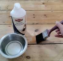 Как отбелить древесину