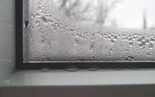 Почему в комнате запотевают пластиковые окна