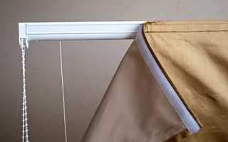 Как правильно постирать римские шторы