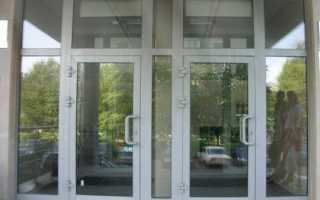 Ремонт алюминиевых дверей в Киеве