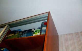 Встроенные шкафы-купе и натяжные потолки