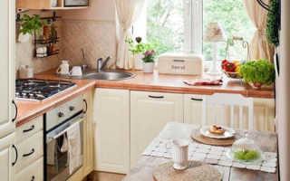 Как подобрать и расставить мебель на маленькой кухне
