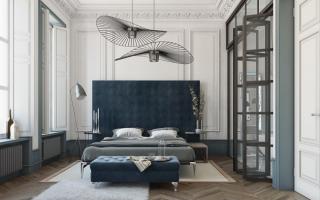 Люстры для спальни; от недорогих до luxury: подборка стильных моделей 2019 года в интерьере