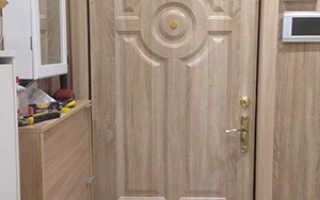 Чем обить дверь? МДФ панели и дерматин для обивки дверей