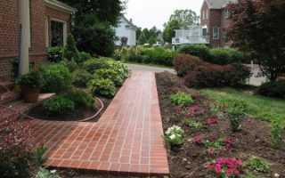 Садовые дорожки на даче из тротуарной плитки: как выложить, несколько фото