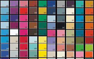Как выбрать цвет натяжных потолков
