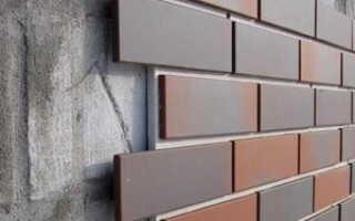 Как создать имитацию кирпича при отделке фасада