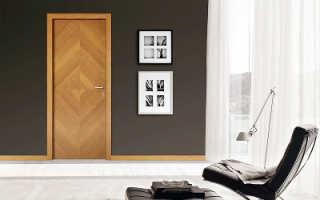 О плюсах и минусах межкомнатных дверей из шпона