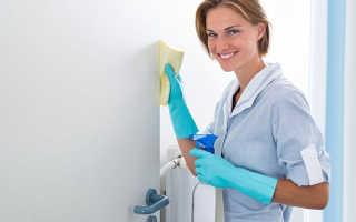 Как очистить межкомнатные двери от жирных пятен