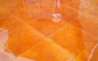Лак для напольной керамической плитки: для чего используется защитное покрытие