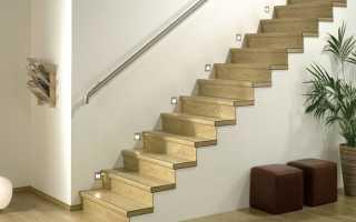 Отделка лестницы ламинатом — простая реализация и элегантный вид