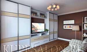 Шкафы-купе с нишей под телевизор от производителя