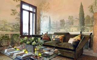Фреска на стену (90 фото): идеи декора
