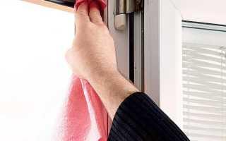 Самостоятельный уход и обслуживание пластиковых окон