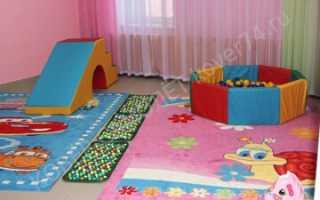 Ковер в детской комнате: НУЖЕН