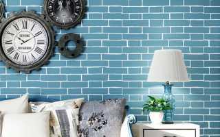 Кирпичная стена в гостиной – 60 примеров оформления