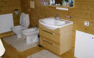 Ванная комната в деревянном доме: особенности выполнения ремонта своими руками