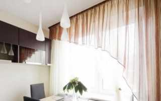 Как подобрать шторы на кухню в стиле Модерн (36 фото)