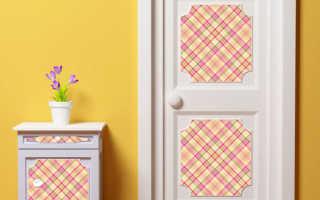 Декорирование межкомнатных дверей: простые идеи для красивой жизни