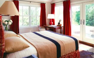 Выбираем шторы для спальни: материалы, колористика и 50 трендовых дизайнерских решений