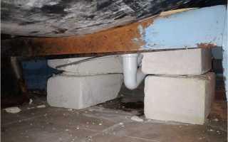 Как установить ванну на кирпичи; установка ванны на кирпичи
