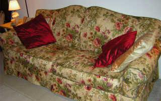 Из какой ткани сшить чехол на диван?