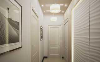Дизайн узкого длинного коридора в квартире; фото и полезные советы