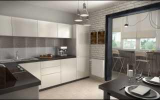 Кухня с балконом; варианты идеального зонирования (100 фото)