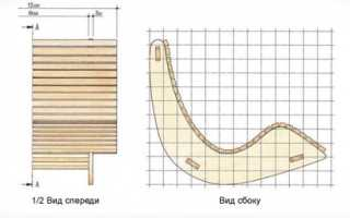 Как сделать кресло качалку своими руками