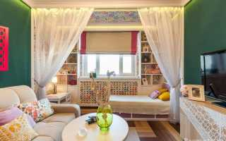 Дизайн гостиной и детской в одной комнате; примеры интерьера